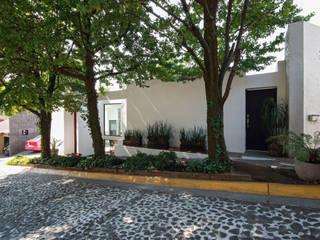Ampliación de casa en Ciudad de Mexico - Casa BG: Casas de estilo  por All Arquitectura