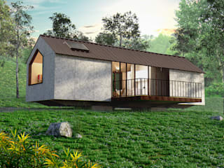 Casas de estilo  de @tresarquitectos, Moderno