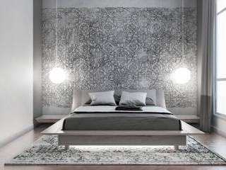 Appartement Etienne Marcel Chambre moderne par ElenKova architecture Moderne