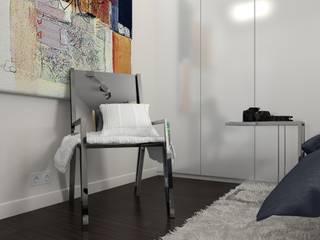 Квартира для ITишника. #квартирадляitишника. от SK- Sokolova design & Kogut Stroy