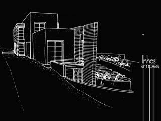 Linhas Simples Casas modernas