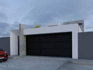 Vista de porton: Puertas de garajes de estilo  por Architektur