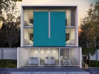 Rumah Minimalis Oleh ARQMA Arquitectura & Diseño Minimalis