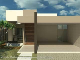 Residência: Casas  por Marcela Matos Arquitetura e Interiores,Moderno