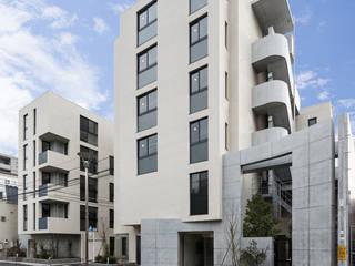 小さな森の集合住宅 ミニマルな 家 の 株式会社YDS建築研究所 ミニマル