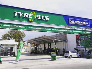 Llantera Tyre Plus Mérida Yucatán de Proyéctica Arquitectos