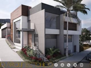 PROYECTO ALMENA Casas modernas de MONACO GRUPO INMOBILIARIO Moderno