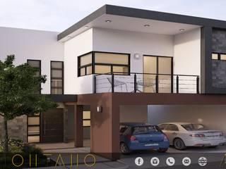 PROYECTO MONTANO Casas modernas de MONACO GRUPO INMOBILIARIO Moderno
