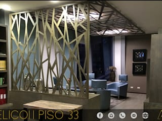 HELICON OFICINAS Estudios y despachos modernos de MONACO GRUPO INMOBILIARIO Moderno