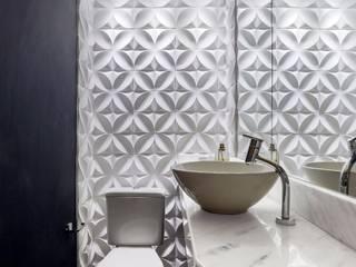 Apartamento PN Banheiros modernos por Caio Prates Arquitetura e Design Moderno