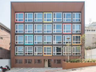 Khách sạn theo 큐브디자인 건축사사무소, Hiện đại