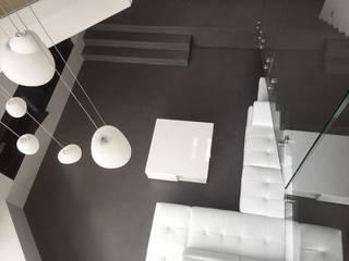 Boden in Betonoptik BETON2 Moderne Esszimmer Beton Grau