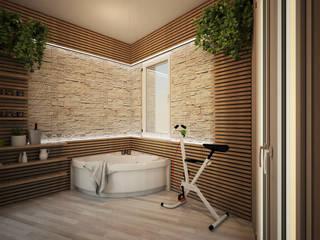 Appartamento P Spa moderna di Michele Vangelista Architetto Moderno