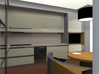 Modern kitchen by francesco crotti Modern