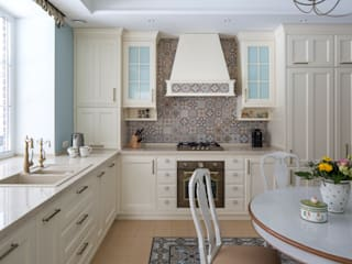 Nhà bếp phong cách đồng quê bởi А-Дизайн Đồng quê