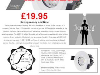 Product Brochures Flairlight Designs Ltd Multimedia roomAccessories & decoration
