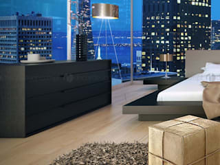 Decordesign Interiores BedroomDressing tables Wood Black