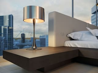 Decordesign Interiores BedroomBedside tables Wood Black