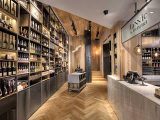Tannic by Freixenet - Entrada: Espacios comerciales de estilo  de Inda Studio Barcelona