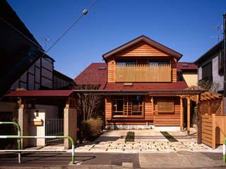赤羽M邸-外観-全景: アイプランニングが手掛けた家です。