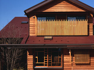 赤羽M邸-外観-近景: アイプランニングが手掛けた家です。