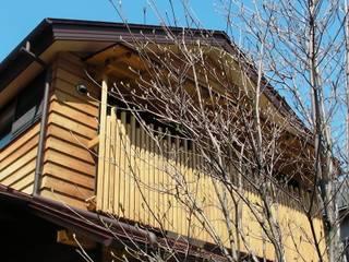 赤羽M邸-外観-見上げ: アイプランニングが手掛けた家です。