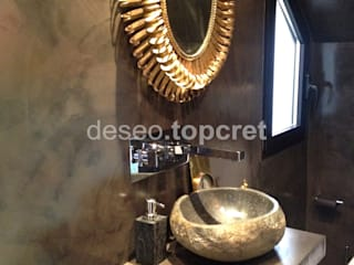 Eclectic style bathroom by Topcret Eclectic