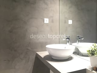 Minimalist bathroom by Topcret Minimalist