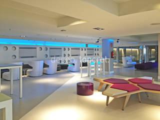Topcret 现代客厅設計點子、靈感 & 圖片 White