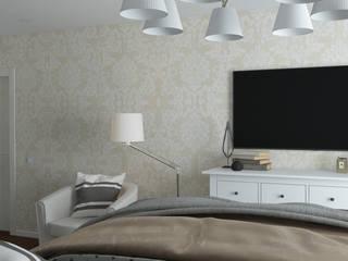 Квартира на Кубанской Спальня в классическом стиле от OBJECT Классический