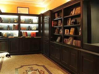 Studio Codebò Vergnano Classic style corridor, hallway and stairs