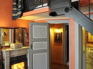 Residenza a Parigi Studio Codebò Vergnano Camera da letto in stile classico