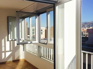 Minimalist house by Rubí & Del Árbol_arquitectos Minimalist