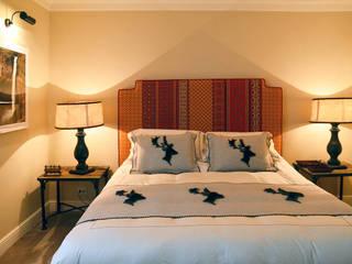 Appartamento in montagna a Megéve Studio Codebò Vergnano Camera da letto in stile classico