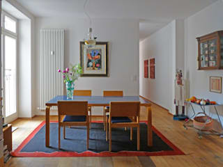 Kiran Kelim & Teppich Kunst Country style dining room Black