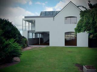 Holly Tree Cottage - Ashton, North West Moderne huizen van Studio Maurice Shapero Modern