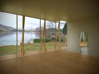 Lake Windermere Moderne woonkamers van Studio Maurice Shapero Modern
