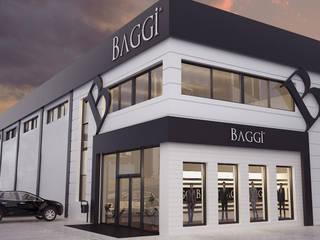 ROAS ARCHITECTURE 3D DESIGN AGENCY Oficinas y tiendas
