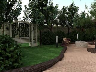 Ландшафт дом кунгей Сад в скандинавском стиле от InsaitDesign Скандинавский
