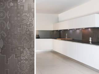 Edificio residenziale a Sant'Eusebio Cucina moderna di basarchitetti Moderno