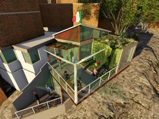 Casa de Voluntários - Rocinha, RJ Casas modernas por Arktectus Arquitetura Sustentável Moderno