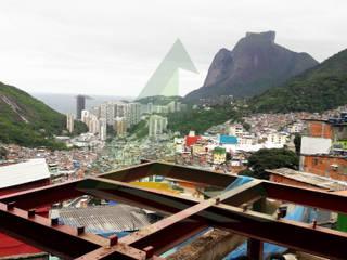 Casa de Voluntários - Rocinha, RJ por Arktectus Arquitetura Sustentável