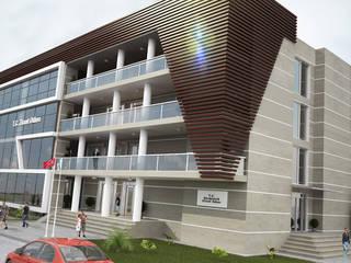 ROAS ARCHITECTURE 3D DESIGN AGENCY Casas estilo moderno: ideas, arquitectura e imágenes