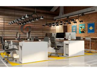 Проект лаборатории для компании Grass Офисные помещения в стиле лофт от OBJECT Лофт