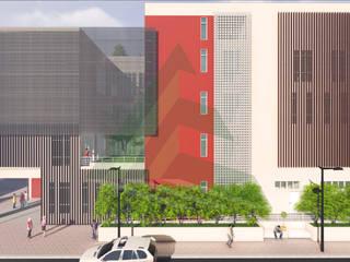 Prédio de Laboratórios - UFRJ, RJ Casas modernas por Arktectus Arquitetura Sustentável Moderno