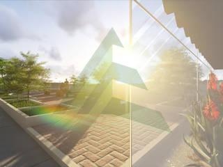 Prédio de Laboratórios - UFRJ, RJ Varandas, alpendres e terraços modernos por Arktectus Arquitetura Sustentável Moderno