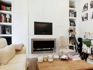 Reforma de piso: Salones de estilo  de ANTIOQUIA INTERIORISMO