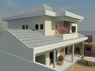 Guaratiba RJ: Casas  por Alves Bellotti Arquitetura & Design,