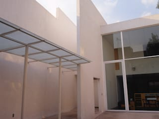 Casa Habitación Artes #39, Coyoacàn Casas modernas de PI Arquitectos Moderno