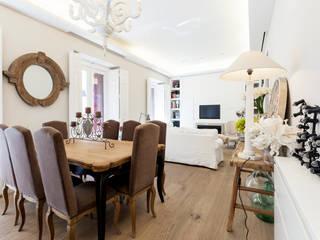 Reforma de piso: Comedores de estilo  de ANTIOQUIA INTERIORISMO
